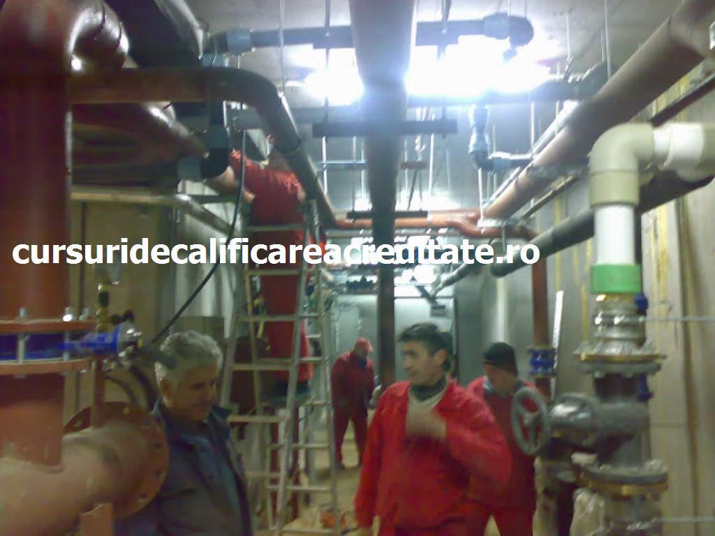 Curs instalator instalatii tehnico sanitare si de gaze , canalizari incalziri